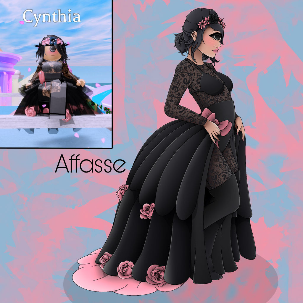 Roblox Dance Outfits Roblox Royale High Cynthia By Affasse On Deviantart