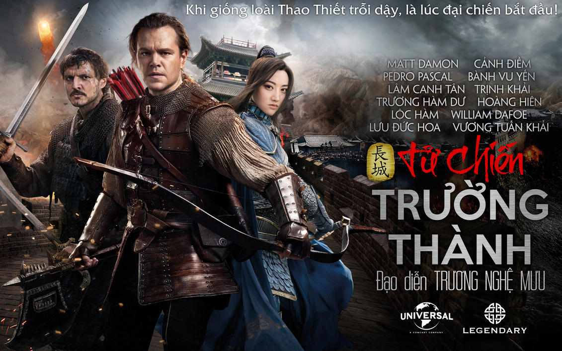 Tu chien Truong Thanh - The Great Wall movie 2016 by