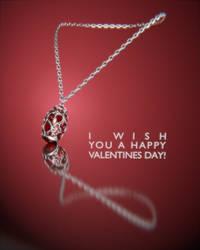 Valentine's pendant