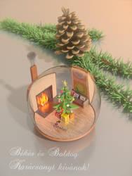 Esence ball of christmass