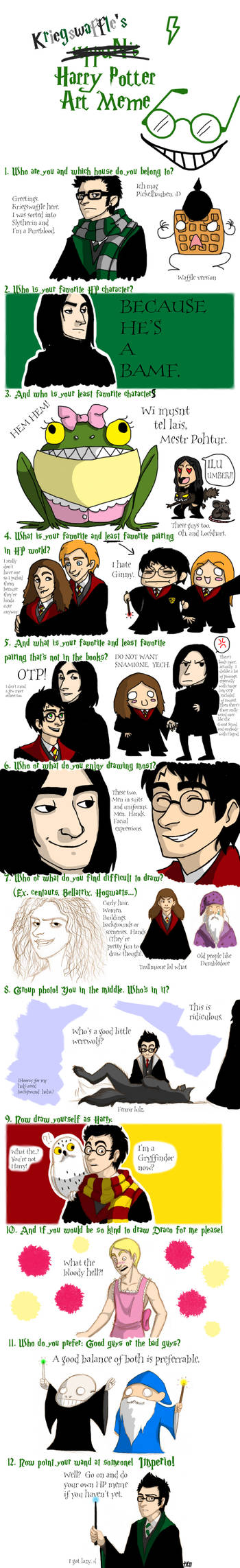 Harry Potter Meme by Kriegswaffle on DeviantArt