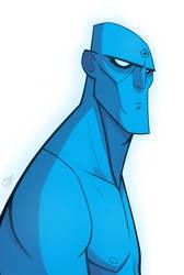 Watchmen - Dr. Manhattan. by ENERGY29