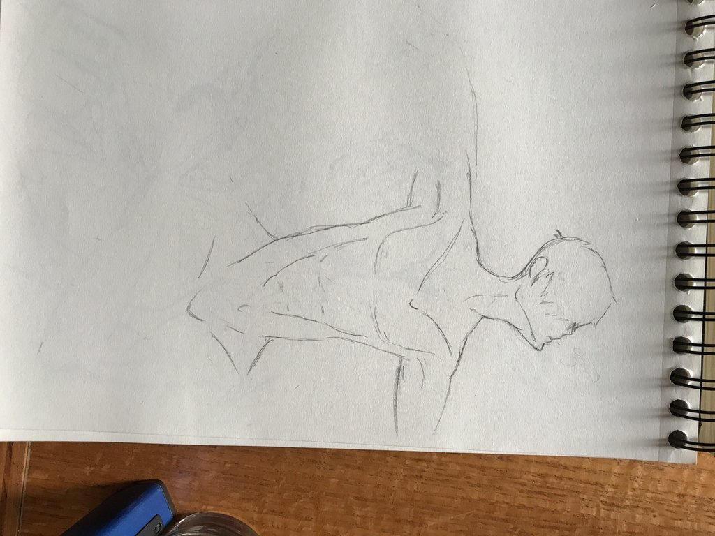 Random sketch 3 by Misc3llanious