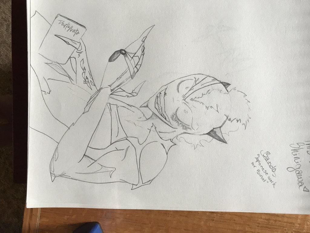 Random sketch 4 by Misc3llanious