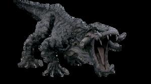 Primeval Kaprosuchus render by chrisufray