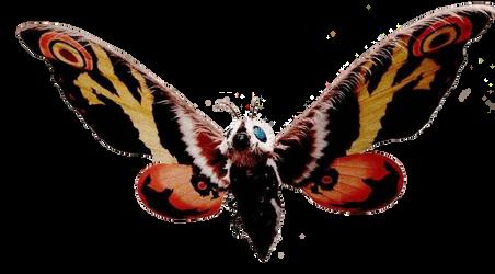 Mothra 2004 render