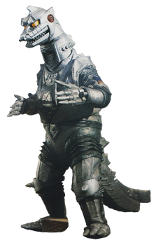 Showa MechaGodzilla render 2 by chrisufray
