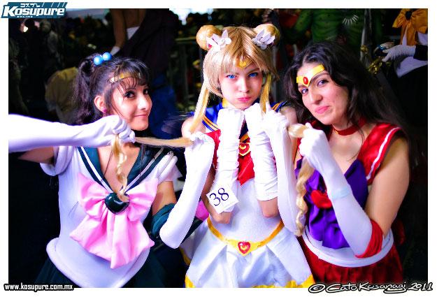 sailor moon Grupal cosplay 04 by akiramiku