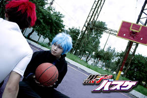 kuroko and kagami kuroko no basket cosplay 3 by akiramiku