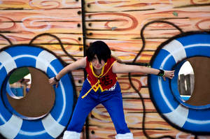 luffy D. monkey One Piece cosplay 01 by akiramiku