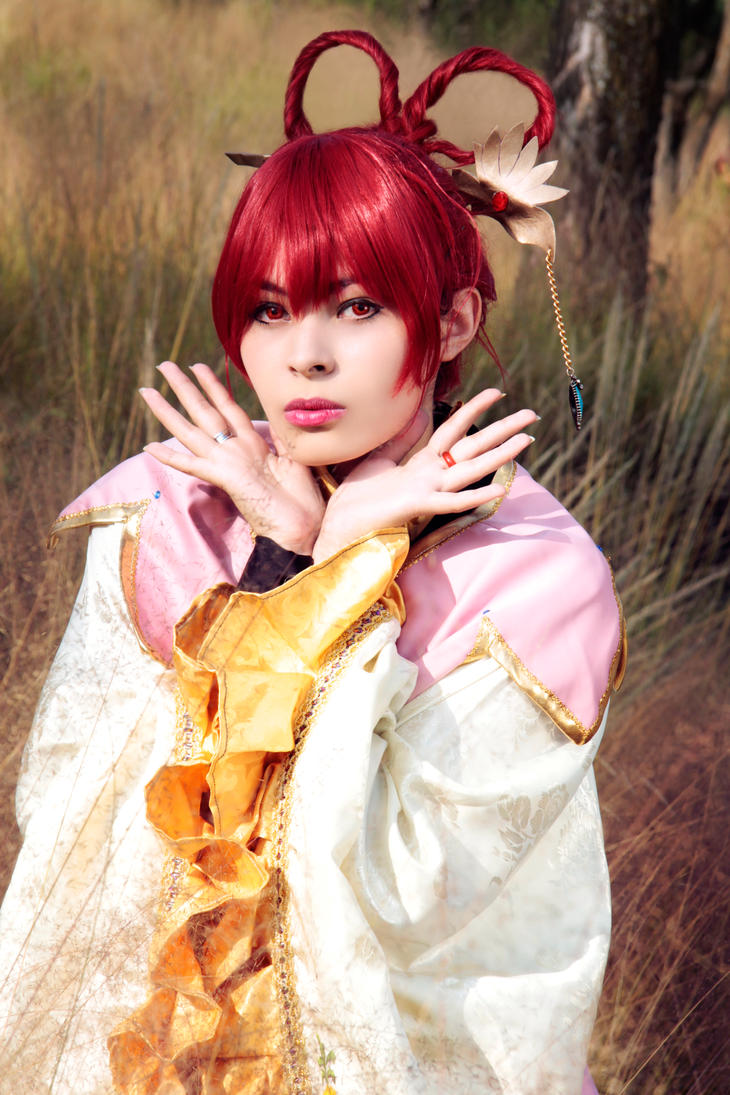 Kougyoku Ren cosplay Magi the labyrinth of magic by akiramiku