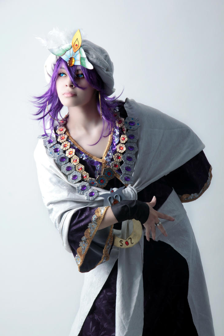 Sinbad cosplay Magi by akiramiku