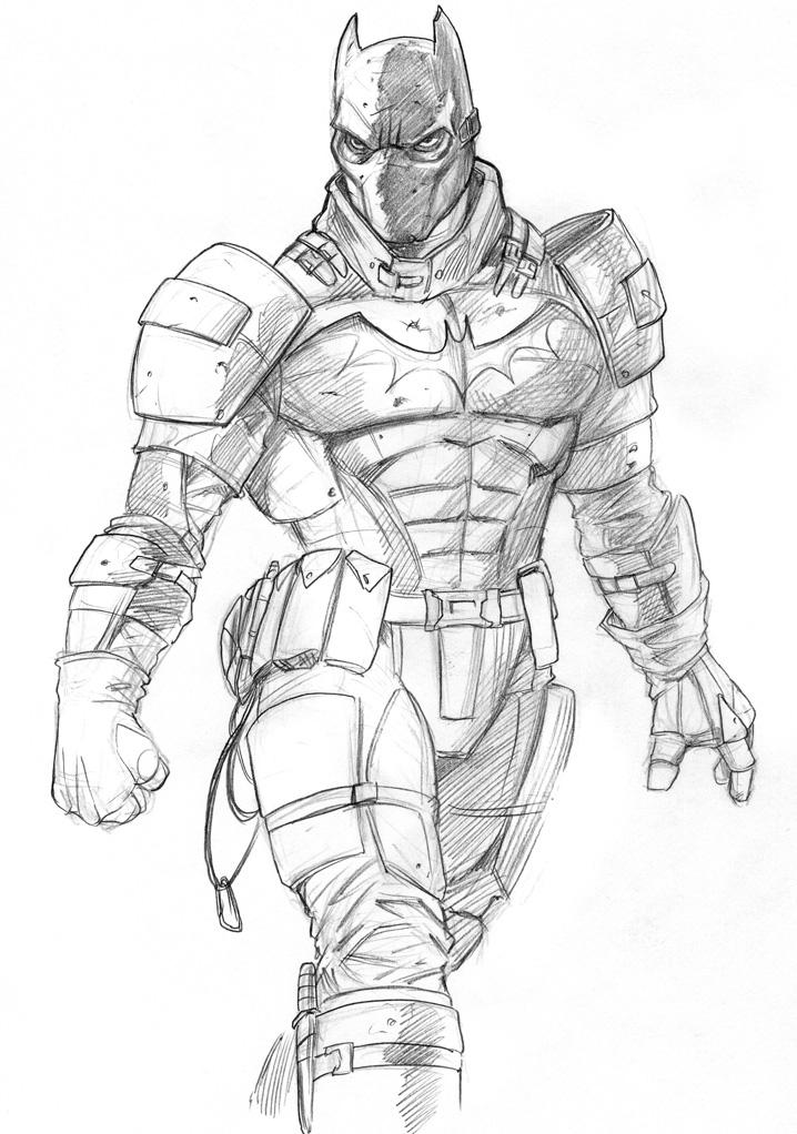 Batman sketch commisions by jeffzombie37 on DeviantArt