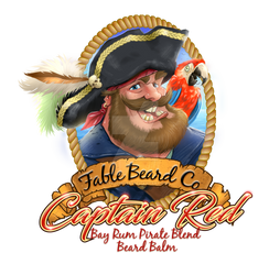 Fable Beard Balm Captain Red Layer