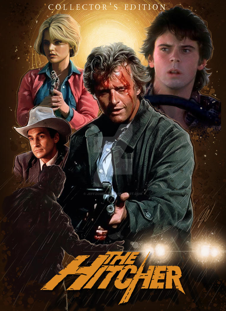 The Hitcher Poster2 by jeffzombie37