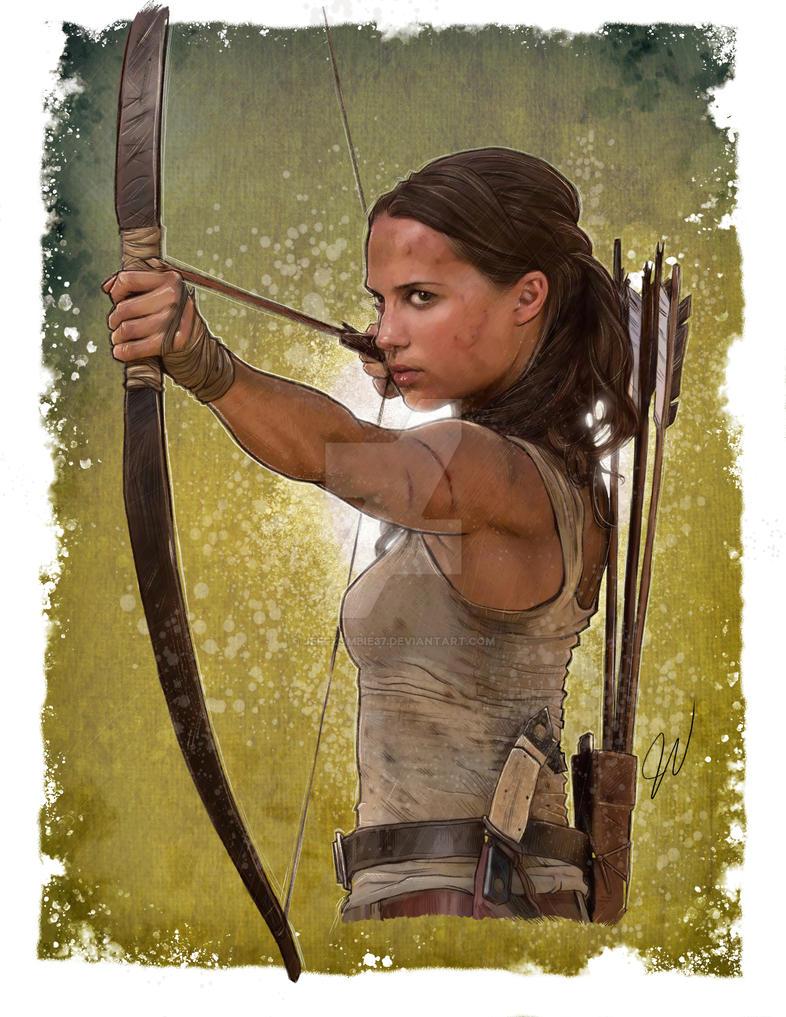 Tomb Raider by jeffzombie37