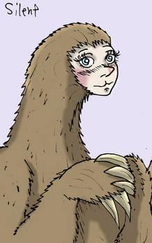 Sloth Girl (Closeup)