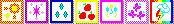 Cutie Mark 4-bit icons