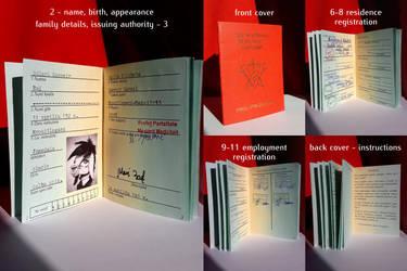 Sunny Ray's Asinestrian identity document