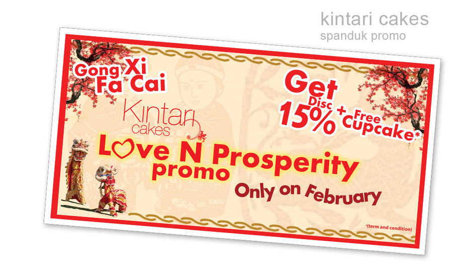 Coupon For Cake Art : Kintari Cakes promo by hyugewb on DeviantArt