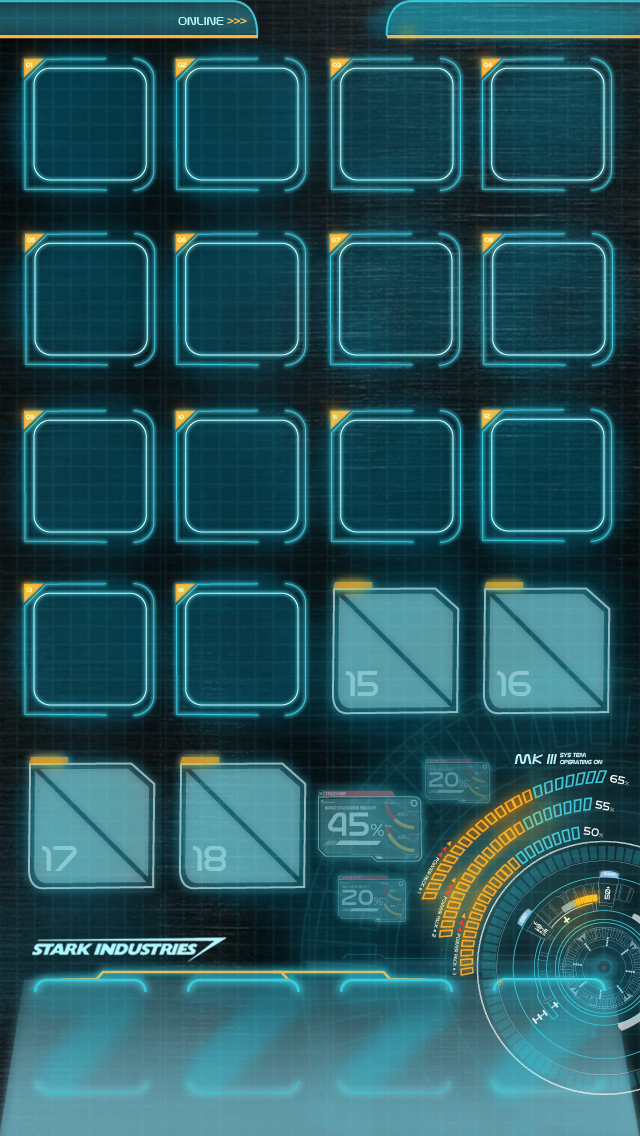 Jarvis mark 3 iphone 5 homescreen wallpaper by hyugewb - Nc state iphone 5 wallpaper ...
