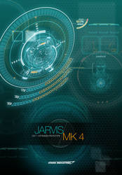 JARVIS MARK 4 - iOS 7 OPTIMIZED WALLPAPER by hyugewb