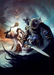 Heroes of The Storm - Johanna and Arthas