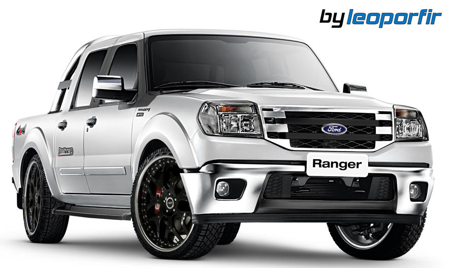 ford ranger dub virtual tuning by leoporfir on deviantart. Black Bedroom Furniture Sets. Home Design Ideas