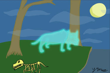 Sabre Tooth Tiger Ghost