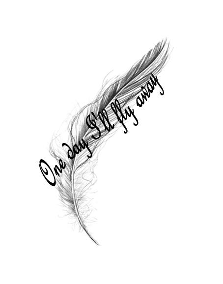 Feather Tattoo by average-sensation