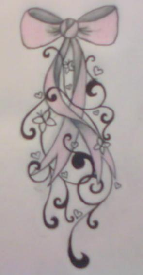 Bow Tattoo Design by average-sensation