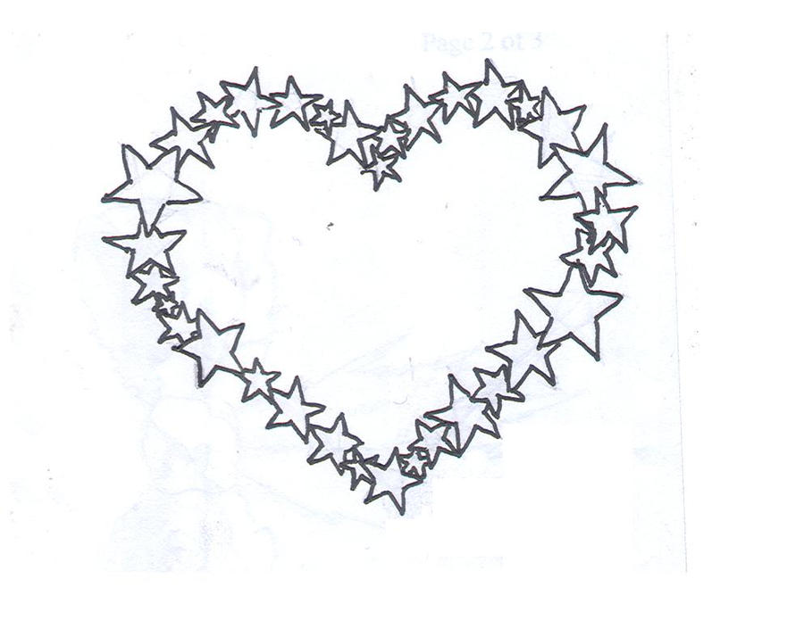 Star heart tattoo by average sensation designs interfaces tattoo