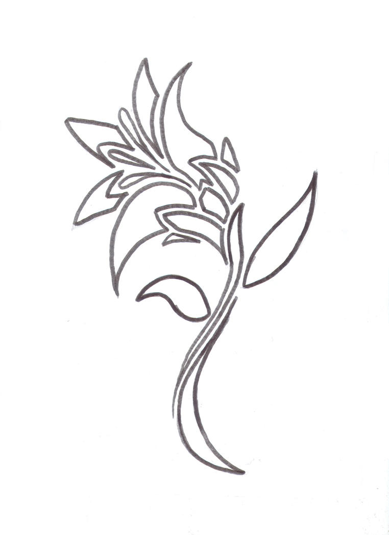 Lily flower tattoo design by average sensation on deviantart lily flower tattoo design by average sensation izmirmasajfo