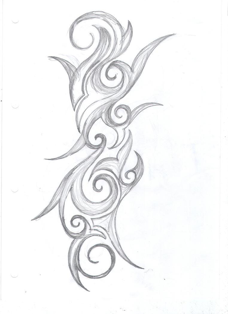 swirly tattoos wwwimgkidcom the image kid has it