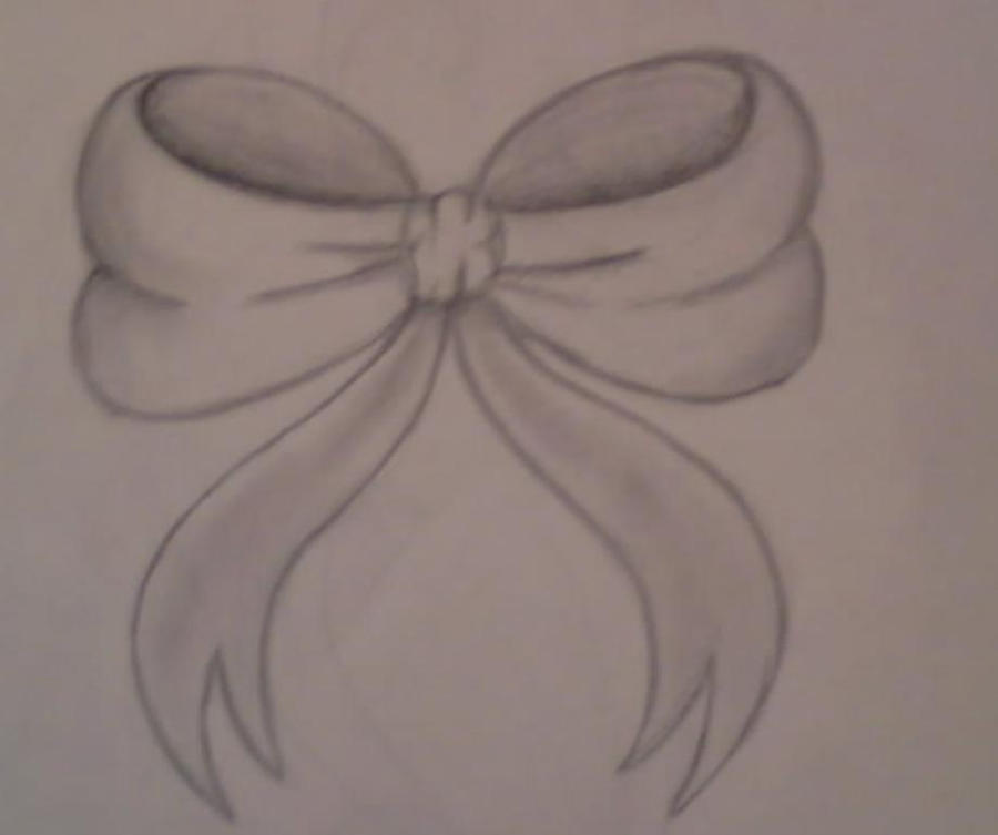 Bow Swirl Tattoo Design by ~average-sensation on deviantART