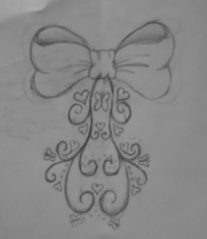 bow tattoos designs