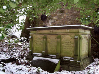 Graveyard and Snow 2 by Ravven-Stock