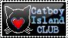 Catboy-Island STAMP by RavynCrescent