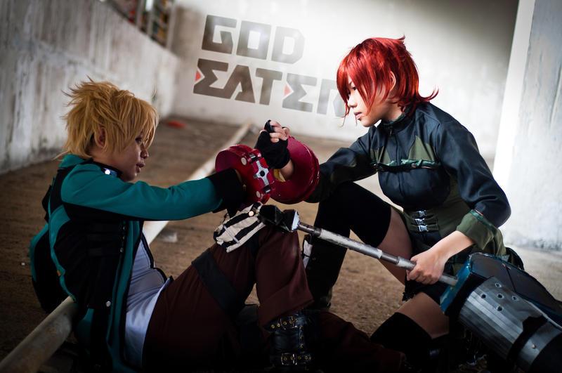 God Eater - Ray of Hope by sasuke-dragon