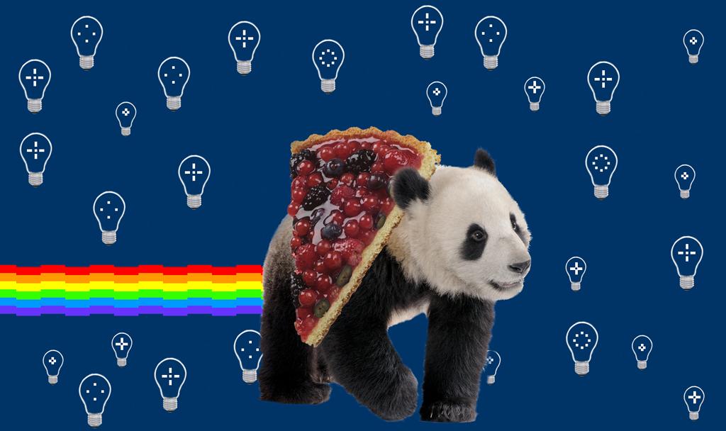 Nyan nyan nyan Panda by tsuda-chan