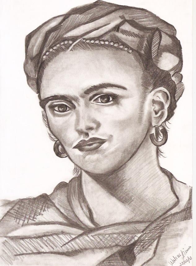 Frida Kalo by Wallper