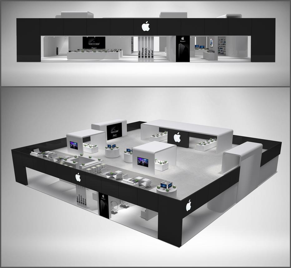 Apple Exhibition by alexandergeorgieff
