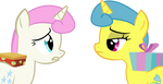 Friendship is Magic Twinkleshine and Lemon Hearts by littlecl0ud