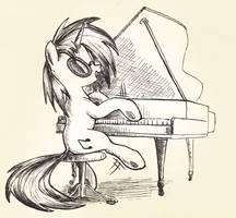Vinyl Scratch Goes Classical by McStalins