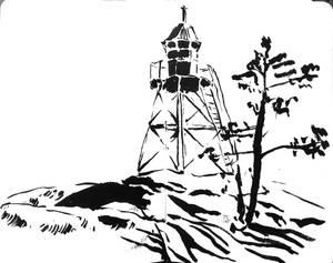 Kurki-Niyemi Cape Lighthouse