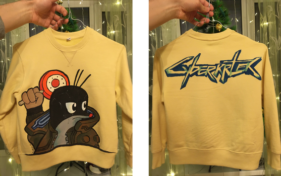 Cyberkrtek Sweatshirt