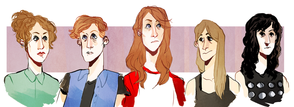 carmilla characters by nucleir on deviantart