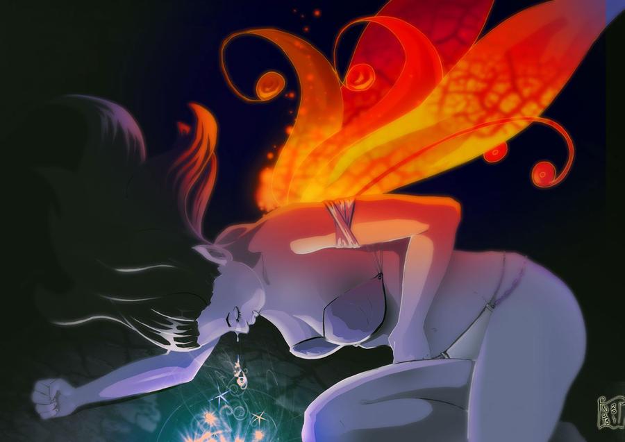 Lady Elise Reborn- alternate colours by slinkyonion