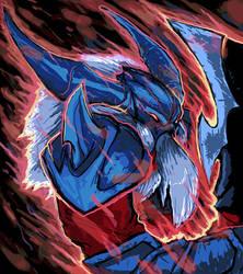 League of Legends Marauder Olaf Fan art
