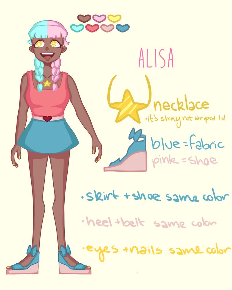 Alisa Ref Sheet by PmpknHeaad